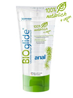 BIOglide Anal 100% natural and vegan Lubricant 80 ml