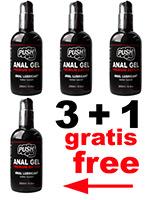 3 + 1 PUSH Anal Gel Premium Edition 250 ml