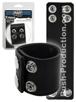Push Xtreme Leather - Houston Snap Strap Ballstretcher Large