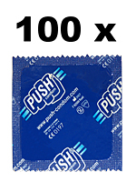 100 x PUSH condoms