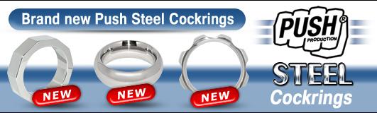 Push Steel Cockringe